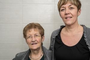 Nonna Rosi og Miriam